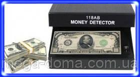 Детектор валют «AD-118AB» – простой прибор, который предназначен для быстрой проверки валюты от батареек