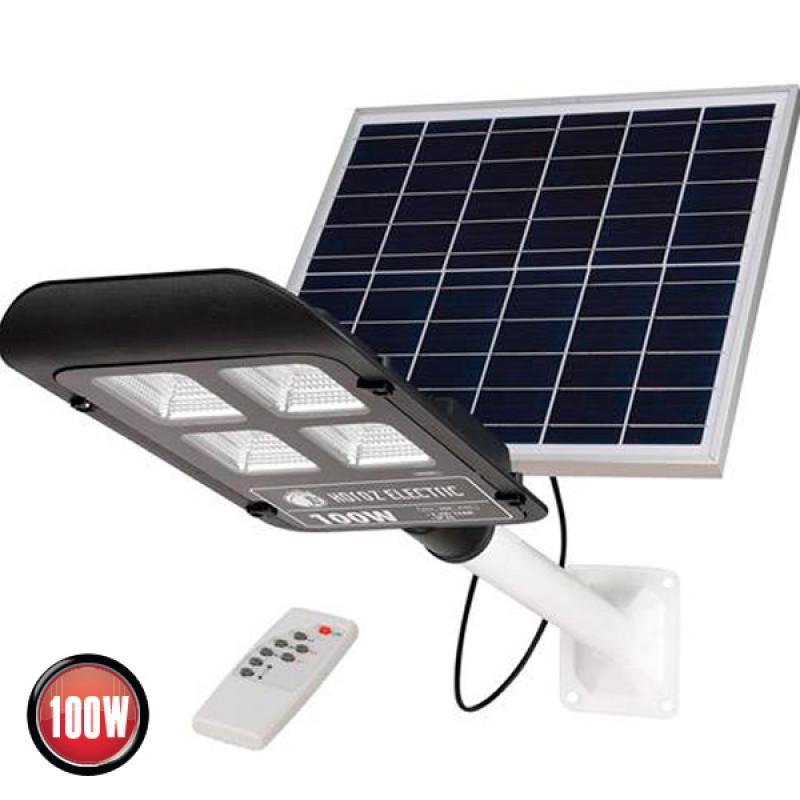 Светильник консольный на солнечной батарее Horoz LAGUNA 100W IP65