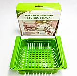 Раздвижной пластиковый контейнер для хранения продуктов и мелочей, фото 2