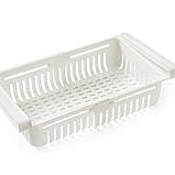 Раздвижной пластиковый контейнер для хранения продуктов и мелочей, фото 3