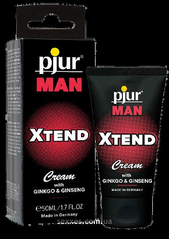 Крем для пениса стимулирующий pjur MAN Xtend Cream 50 ml, с экстрактом гинкго и женьшеня, фото 2