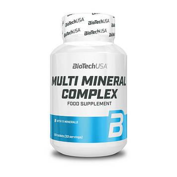 Мультиминеральный комплекс BioTech Multi Mineral Complex (100 tabs)