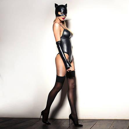 """Сексуальная маска """"Кошечка"""" под латекс, эластичная, фото 2"""