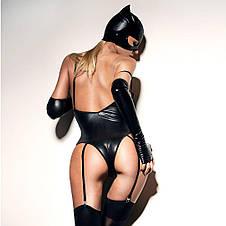 """Сексуальная маска """"Кошечка"""" под латекс, эластичная, фото 3"""