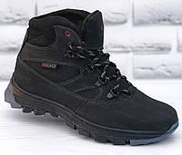 Ботинки детские зимние подростковые кожаные для/на мальчика, черевики зимові на хлопчика