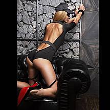 """Эротический костюм полицейской """"Строптивая Паулина"""" XS/S, комбинезон, кепка, подвязка, фото 2"""