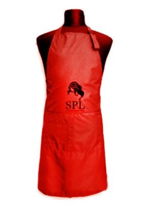 Фартук односторонний SPL Medium, красный, 905071-Е
