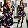 """Шикарное платье """"Цветы"""", фото 2"""