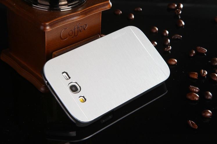 Чехол для Samsung Galaxy Grand Neo I9060 motomo металлический