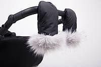 Муфта-Варежки на коляску Anmar Handmuff. Цвет черный.