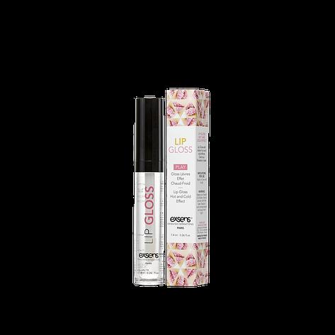 Стимулирующий блеск для губ EXSENS Lip Gloss 7.4мл, эффект покалывания и холод-тепло, фото 2