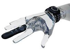 Вибратор на палец Adrien Lastic Touche (L) для глубокой стимуляции с пультом управления на руке, фото 2