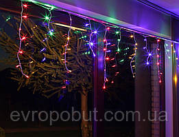 Гирлянда светодиодная LTL Sople занавес 100 led длина 3.2 метра разноцветная RGB