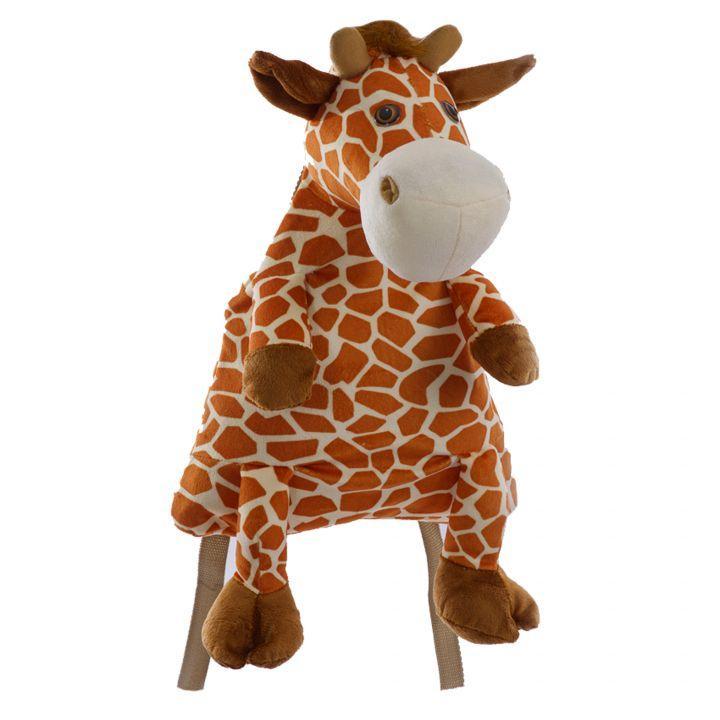 Мягкая игрушка Рюкзак Жираф 00537