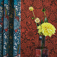 Класичний англійський стиль в колекції шпалерQueen Square Collection
