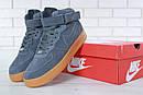 Кроссовки мужские зимние Nike Air Force 1 High, фото 3