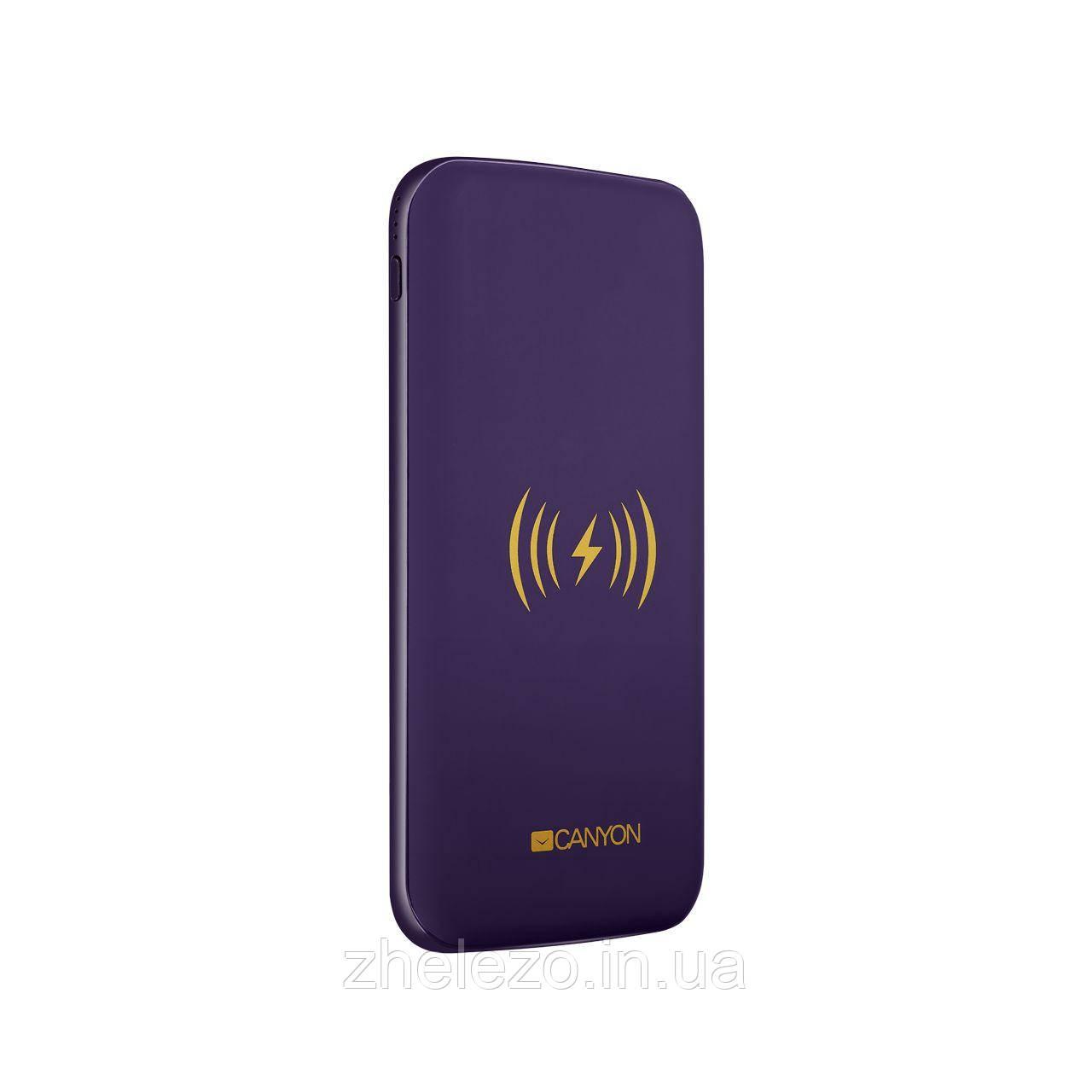 Бездротове зарядний пристрій Canyon CNS-TPBW8P Purple
