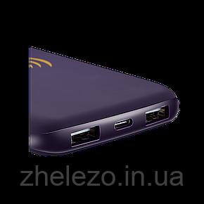Беспроводное зарядное устройство Canyon CNS-TPBW8P Purple, фото 2