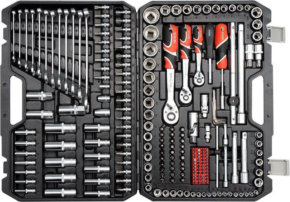 Профессиональный набор инструментов 216 эл. YATO YT-38841