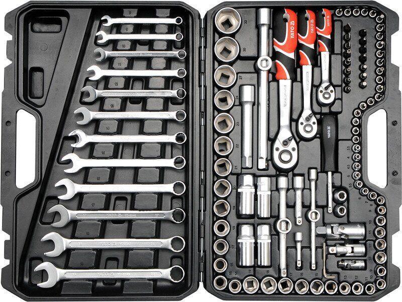 Набір інструментів для автомобіля 111 предметів YATO YT-38831
