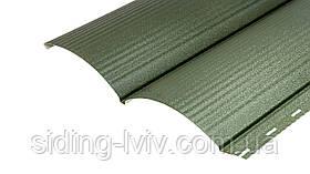 Блок-хаус металевий RAL 6005 матовий, глянцевий 1 сторонній зелений
