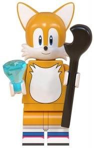Фигурка Тейлз Teirusu Sonic Соник Аналог лего