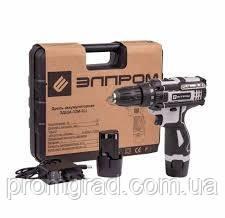Шуруповерт аккумуляторный ЭЛПРОМ ЭДША-12М-2 Li