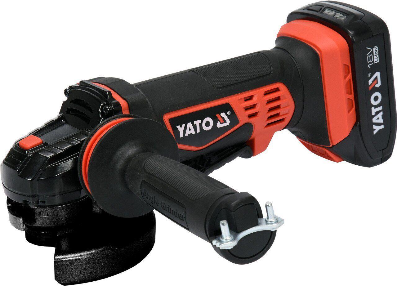 Аккумуляторная болгарка YATO YT-82826