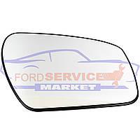 Стекло зеркала правого вкладыш RH с подогревом круглое крепление аналог для Ford Fiesta 6 c 06-08, Fusion c