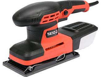Вібраційна плоскошліфувальна машинка YATO YT-82230