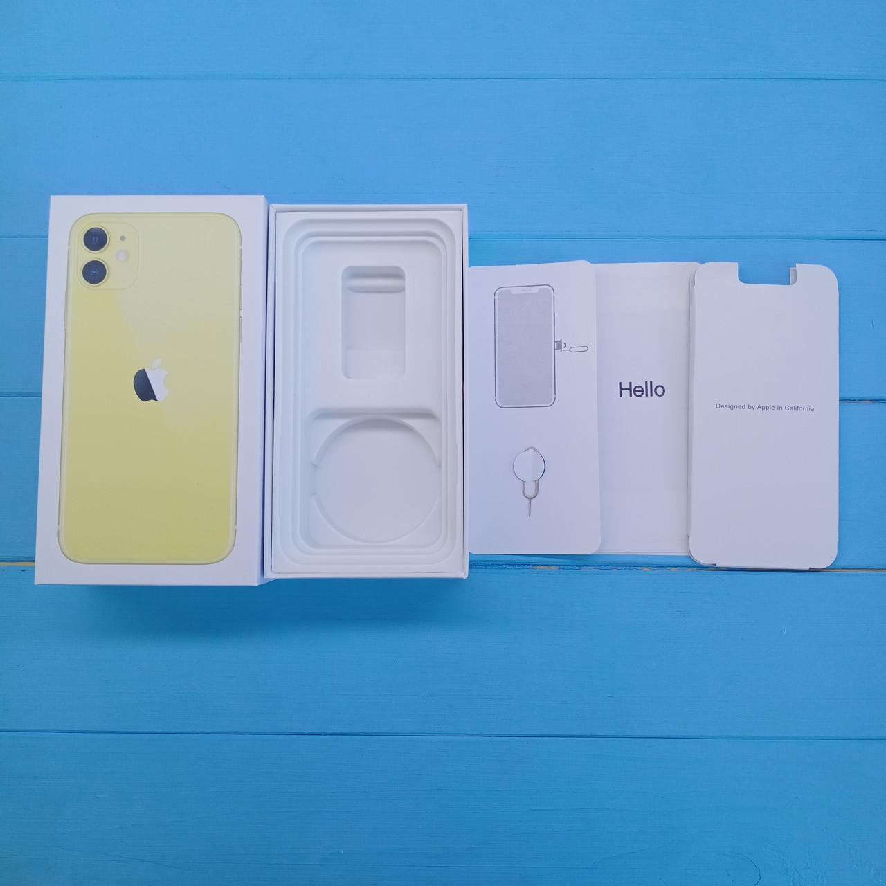 Коробка Apple iPhone 11 Yellow
