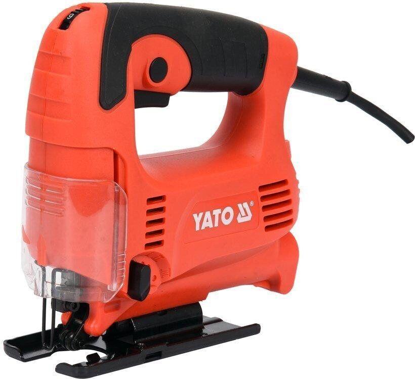 Електролобзик з низькою вібрацією 450 Вт YATO YT-82274