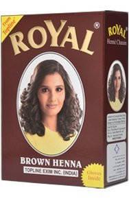 Хна коричневая Royal 60 гр