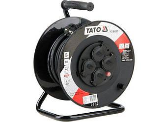Подовжувач на котушці 30 метрів YATO YT-81053
