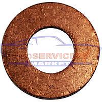 Шайба медная пробки слива масла неоригинал для Ford 1.4-1.5-1.6-2.0-2.2 TDCi, фото 1