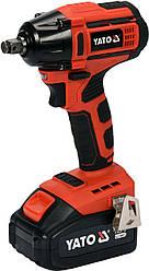 Акумуляторний безщітковий гайковерт 250 Нм YATO YT-82802