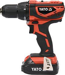 Двошвидкісний акумуляторний шуруповерт YATO YT-82782