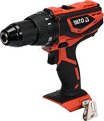 Дриль-шуруповерт акумуляторний YATO YT-82787