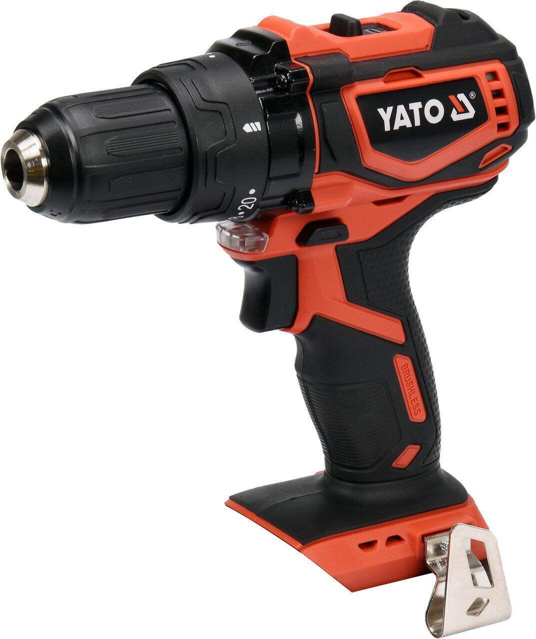 Дриль-шуруповерт акумуляторний YATO YT-82795