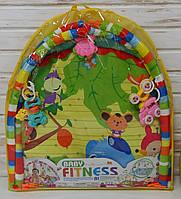 Игровой коврик детский для младенца 550-21-22 Bambi 84-84см