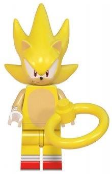 Фигурка Супер Соник Super Sonic Аналог лего