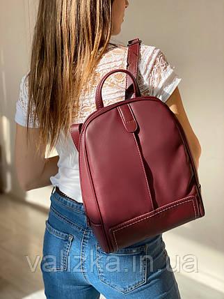Рюкзак David Jones 5433  женский бордовый, фото 2