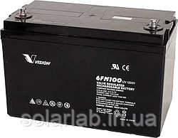 Акумуляторна батарея Vision FM 12V 100Ah