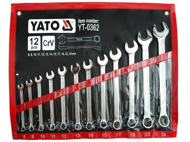 Набір ключів YATO YT-0362