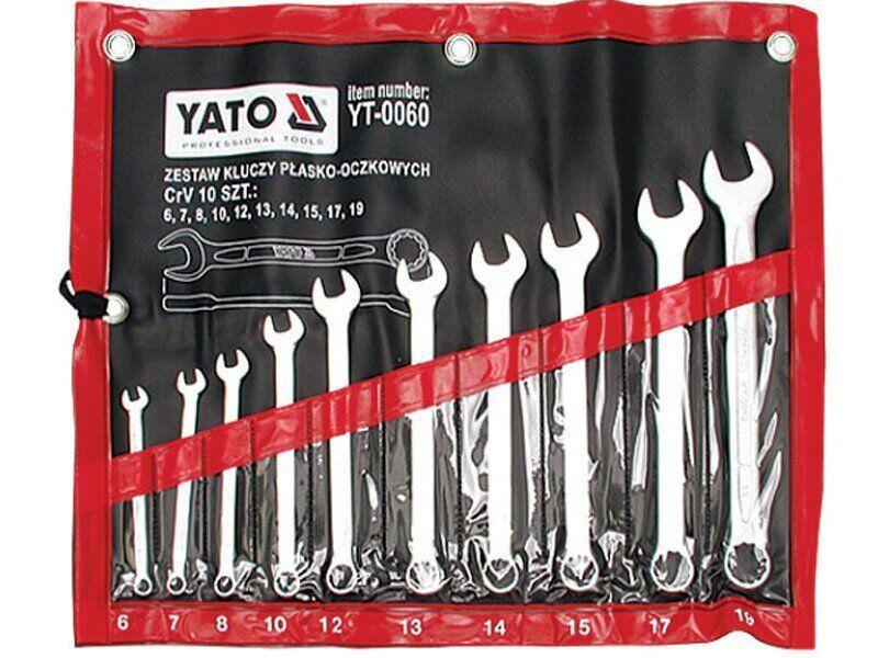 Набір ключів комбінованих YATO YT-0060