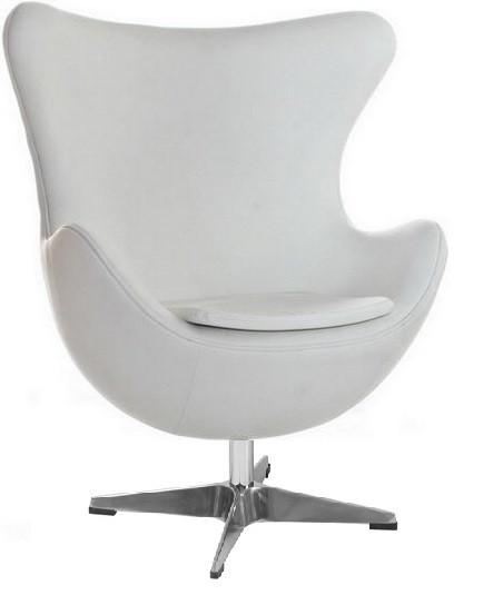 Кресло Эгг кожа металл Grupo SDM