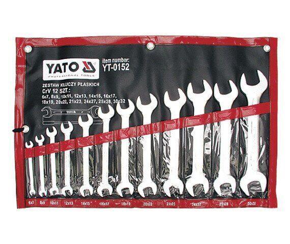 Набор ключей рожковых YATO YT-0152