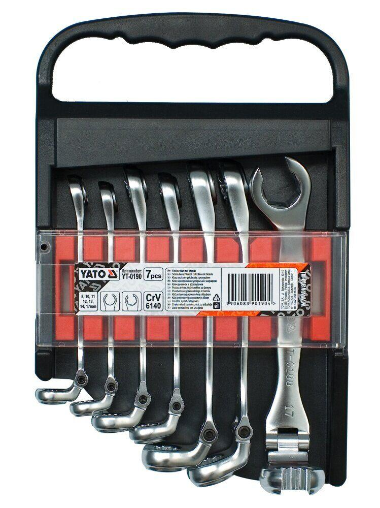 Набір ключів розрізних YATO YT-0190