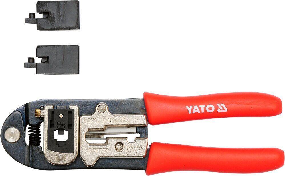 Клещи для обжима кабельных коннекторов YATO YT-2244