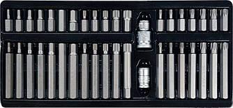 Набір професійних біт Torx, Spline, Нех YATO YT-0400